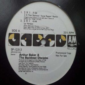 01 arthur baker the backbeat disciples 2 x 1 12 inch vinyl