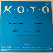 01 koto the koto mix 12 inch vinyl