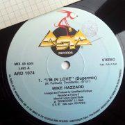 01 mike hazzard im in love 12 inch vinyl