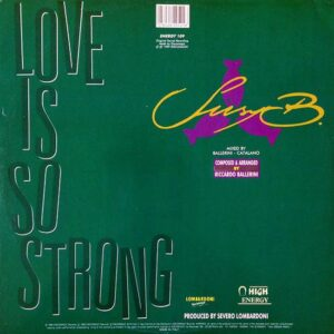 01 suzy b love is so strong 12 inch vinyl