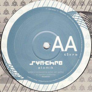01 synchro kiss this atomik 12 inch vinyl