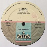 02 lisa johnson listen 12 inch vinyl
