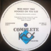 02 miss nicky trax hooked on you 12 inch vinyl