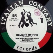 02 new york rappers featuring elaine laye relight my fire 12 inch vinyl