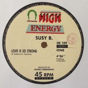 02 suzy b love is so strong 12 inch vinyl