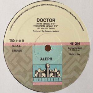 03 aleph doctor 12 inch vinyl