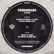 03 fendaheads oxygen limited edition 12 inch vinyl