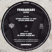 03 fendaheads oxygen limited edition 12 inch vinyl