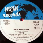 03 koto the koto mix 12 inch vinyl