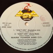 03 mark tower co dont cry 12 inch vinyl