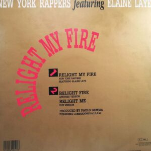 03 new york rappers featuring elaine laye relight my fire 12 inch vinyl