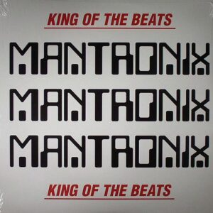 mantronix king of the beats vinyl lp