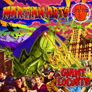 martian arts giant locusts CD