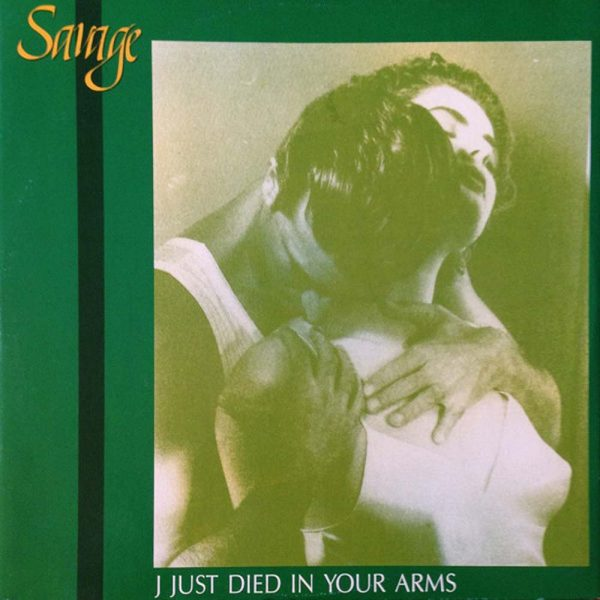 savage i just died in your arms 12 inch vinyl