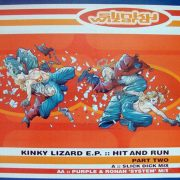 slinky wizard kinky lizard ep hit and run part 2 vinyl 12 inch