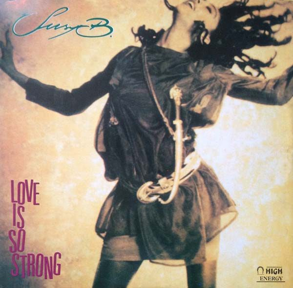 suzy b love is so strong 12 inch vinyl