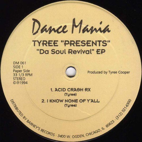 tyree da soul revival ep 12 inch vinyl