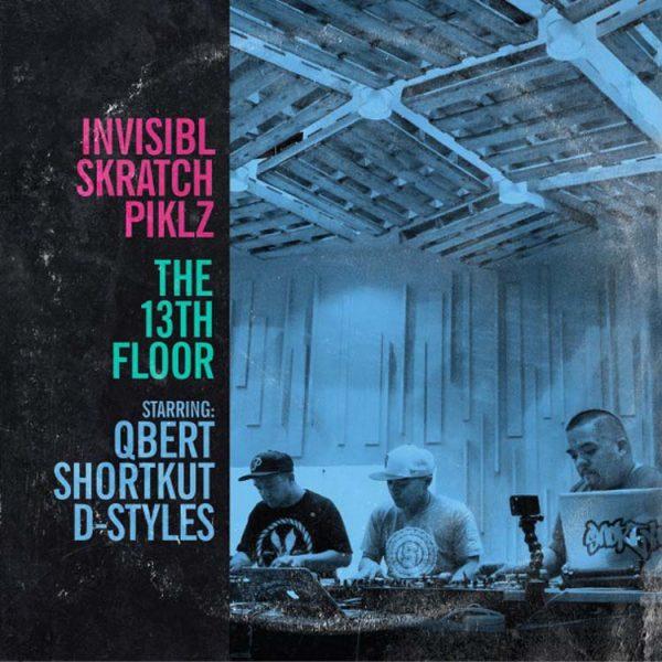 invisibl skratch piklz the 13th floor vinyl lp