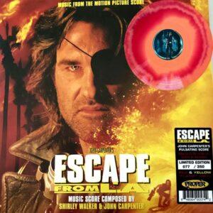 john carpenter escape from l a vinyl lp