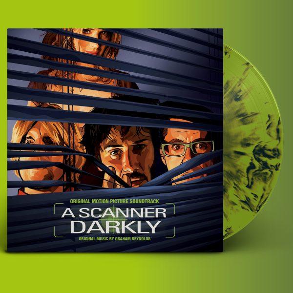 graham reynolds a scanner darkly vinyl lp