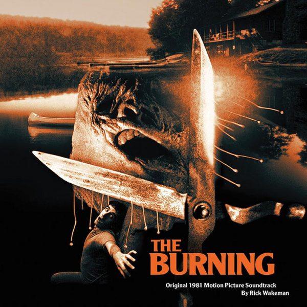 rick wakeman the burning vinyl lp