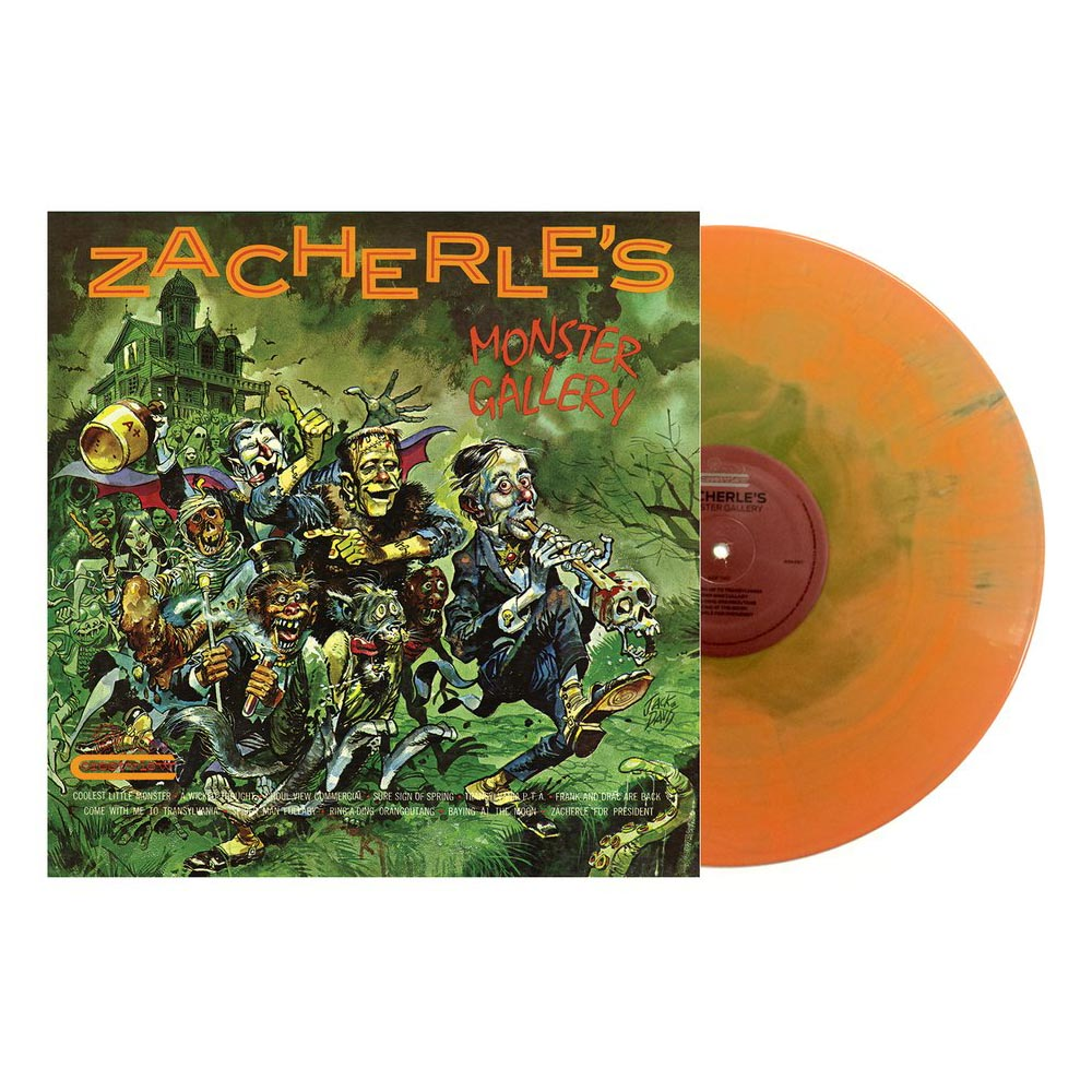 john zacherle zacherles monster gallery vinyl lp