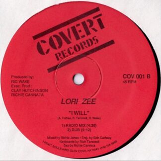 lori zee i will 12 inch vinyl