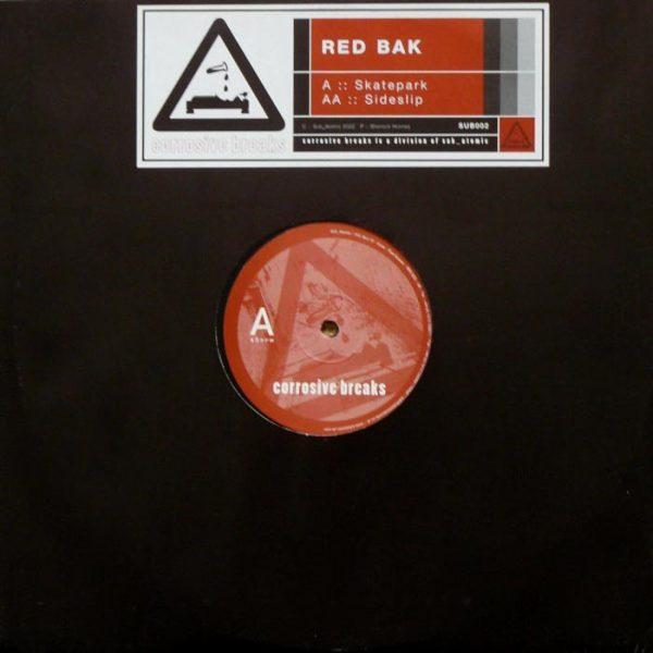 red bak skatepark sideslip 12 inch vinyl