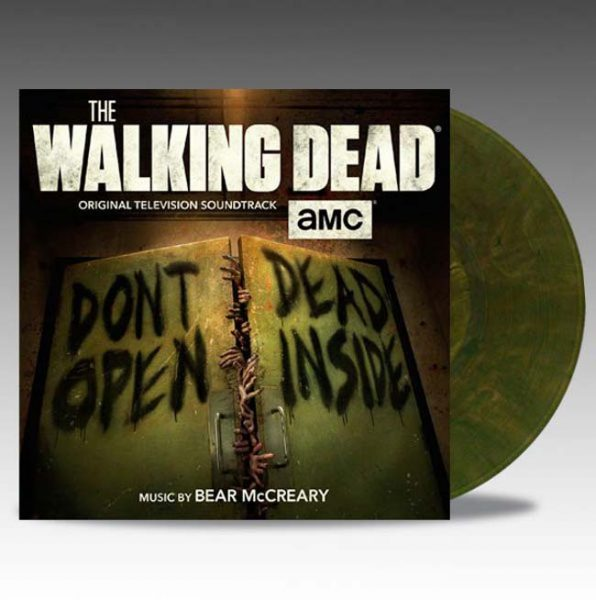 bear mccreary the walking dead vinyl lp