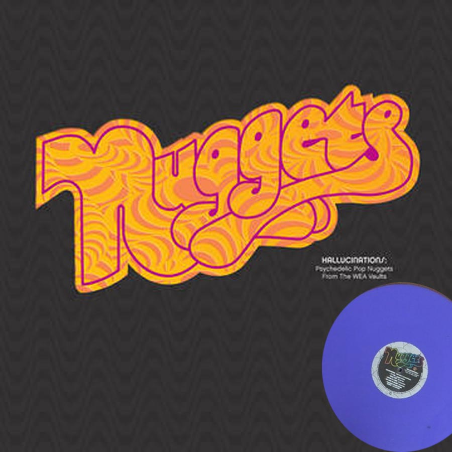 various artists nuggets hallucinations vinyl lp