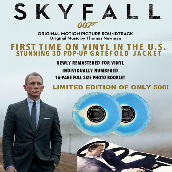 thomas newman skyfall vinyl lp
