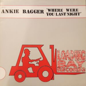 ankie bagger where were you last night 12 inch vinyl