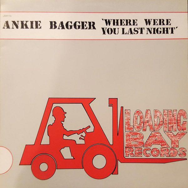 ankie bagger where were you last night 12 inch vinyl
