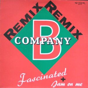 company b fascinated jam on me 12 inch vinyl