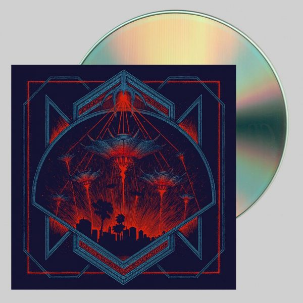 hollywood burns invaders CD
