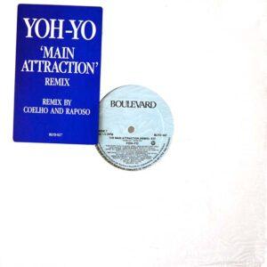 yoh yo the main attraction 12 inch vinyl