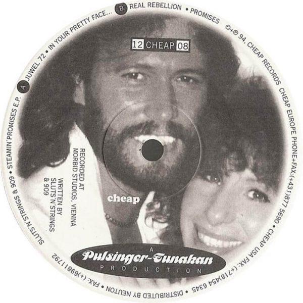 sluts n strings 909 steamin promises 12 inch vinyl