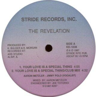 the revelation your love is a special thing 12 inch vinyl