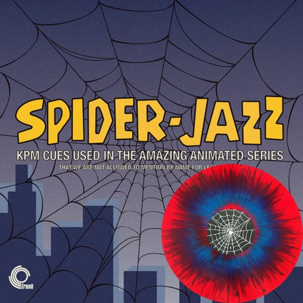various artists spider jazz kpm cues used in the amazing animated series vinyl lp