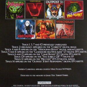 03 videogram choice cuts CD