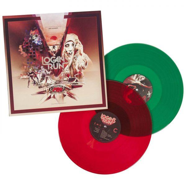 jerry goldsmith logans run vinyl lp
