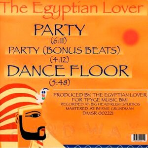 01 the egyptian lover party 12 inch vinyl