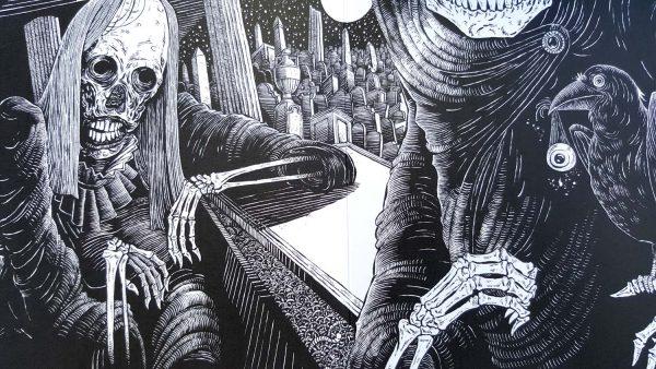 Anthony D P Mann, Edgar Allan Poe, Maurizio Guarini | The Raven 7 Inch  Vinyl | Psilowave Records