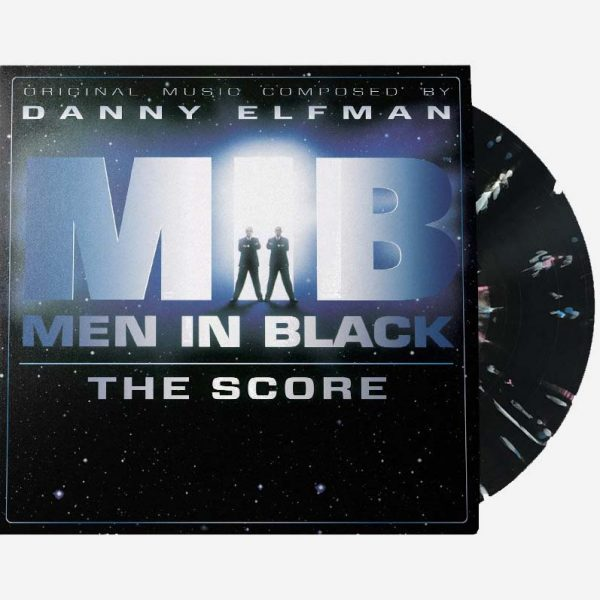 danny elfman men in black the score vinyl lp