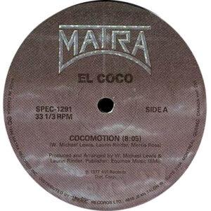 el coco cocomotion 12 inch vinyl