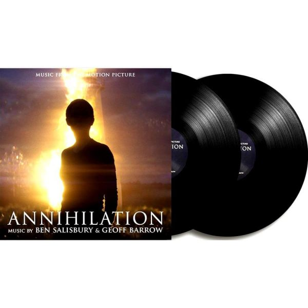 ben salisbury geoff barrow annihilation black vinyl lp