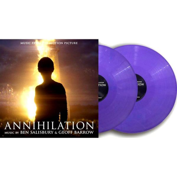 ben salisbury geoff barrow annihilation coloured vinyl lp