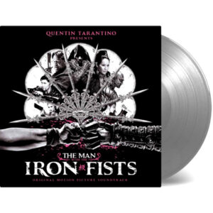 various artists the man with the iron fists vinyl lp