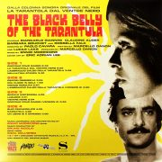 01 ennio morricone the black belly of the tarantula vinyl lp