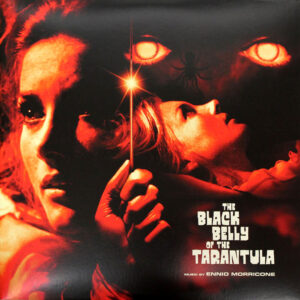 ennio morricone the black belly of the tarantula vinyl lp